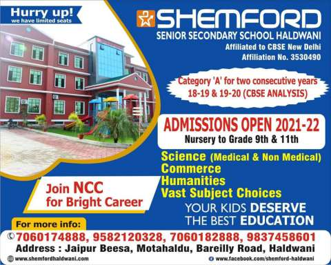 Ad - Shemford School