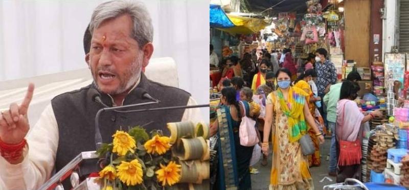 उत्तराखंड में एक हफ्ते के लिए बढ़ा कर्फ्यू, पांच दिन इतने घंटे के लिए खुलेंगी दुकानें