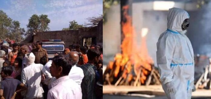उत्तराखंड:संक्रमित के अंतिम संस्कार पर निकला ग्रामीणों का गुस्सा,टीम पर किया पथराव,बुलानी पड़ी पुलिस
