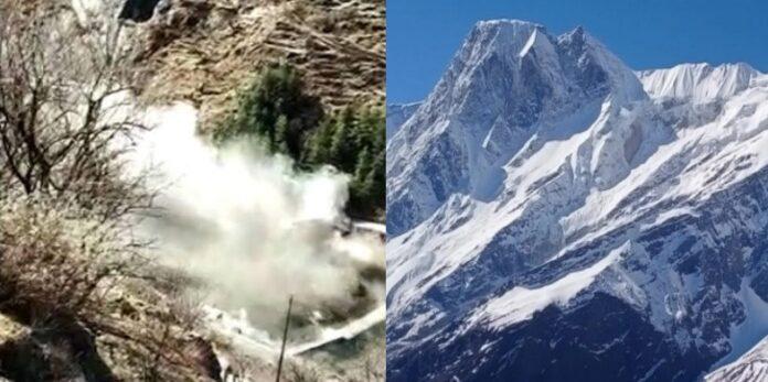 चमोली आपदा क्षेत्र में फिर अनहोनी की आशंका, ऋषि गंगा के ग्लेशियर में दरारों की सूचना के बाद अलर्ट जारी