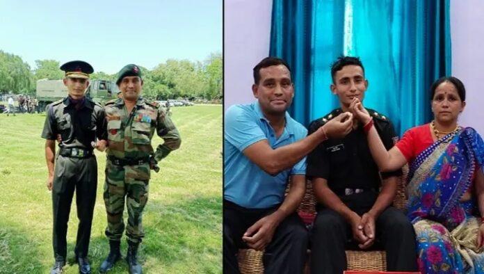 हल्द्वानी हल्दुचौड़ निवासी भगत धामी बने सेना में लेफ्टिनेंट, दादा व पिता के बाद बेटा करेगा देश सेवा