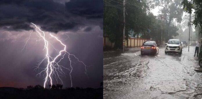 Alert: Heavy rainfall predicted in five districts including Nainital