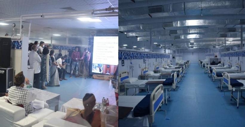 हल्द्वानी में DRDO द्वारा निर्मित कोविड अस्पताल का हुआ उद्घाटन,सुविधाओं पर डालें नजर