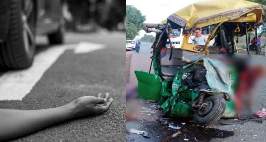 हल्द्वानी: हेड़ाखान मोटर मार्ग पर पिकअप व ऑटो में जोरदार टक्कर, एक की मौत, दो घायल