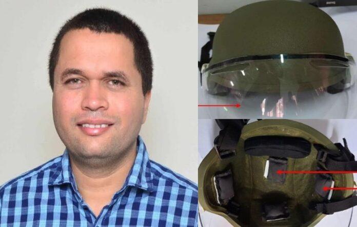 IIT रुड़की के प्रोफेसर शैलेश का आविष्कार,जवानों की सुरक्षा के लिए बना दिया विस्फोट प्रतिरोधी हेलमेट