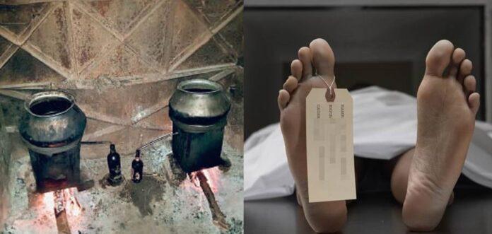 उत्तराखंड: घर में बनाते थे कच्ची शराब, गैस लीक होने से पिता व बेटों की मौत