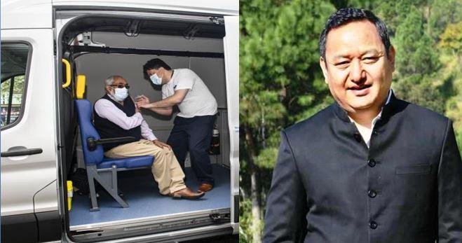 नैनीताल जिले में वैक्सीनेशन के लिए घूमेगी गाड़ी, हल्द्वानी एडब्लू मंडी गेट से होगी योजना की शुरुआत