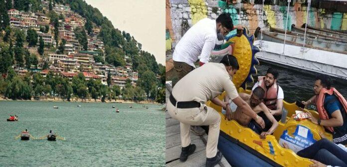 हड़कंप: नशा कर नैनीताल झील में कूद गया युवक, पर्यटकों की सूझबूझ से बची जान