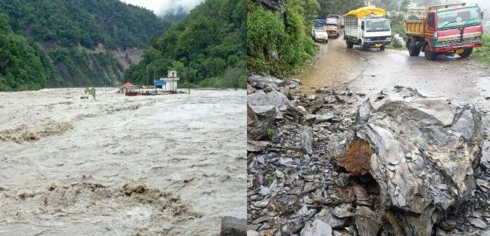 उत्तराखंड में आफत की बारिश के कारण टूटा 800 गांवों से संपर्क,22 जून तक अलर्ट जारी