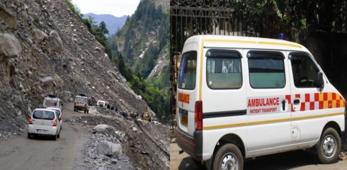 Ambulance to be stationed at danger point on Highways for disaster relief