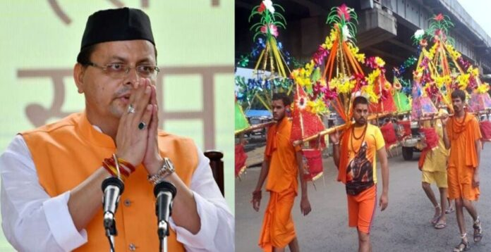 CM Dhami on Kanwar Yatra, said God would not want people to die