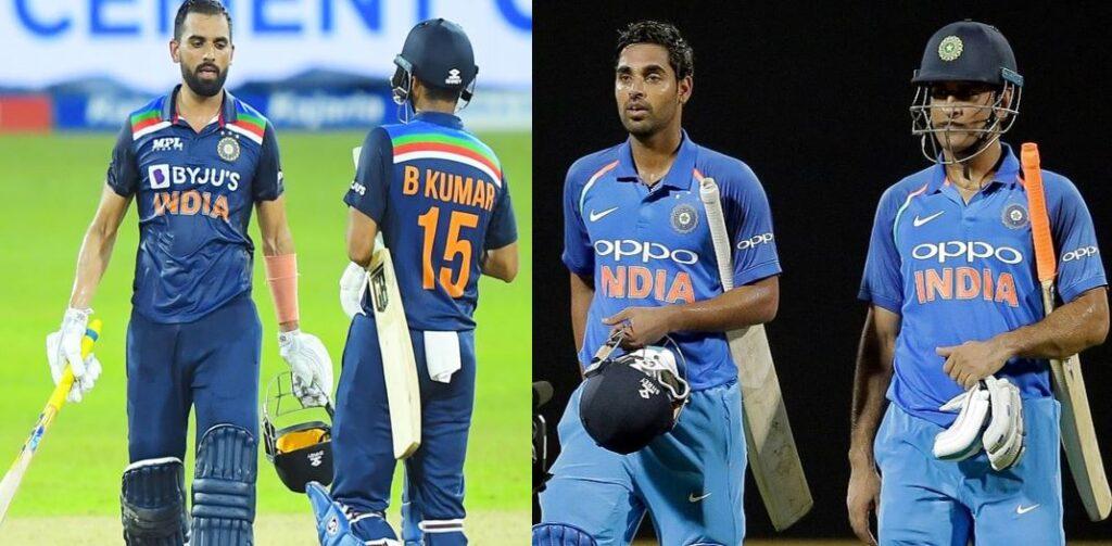 श्रीलंका के खिलाफ भुवी-दीपक की साझेदारी ने जिताया हारा हुआ मैच, याद आए 2017 वाले धोनी