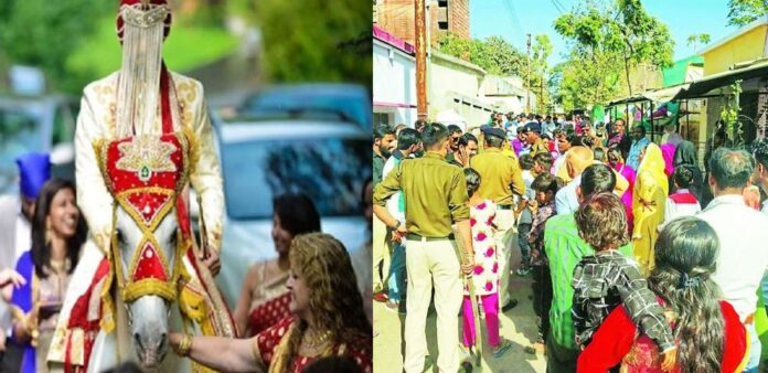 बिना RTPCR रिपोर्ट यूपी से उत्तराखंड आई बारात को पुलिस ने वापिस लौटाया, हुआ हंगामा