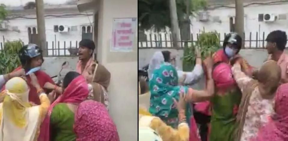 हल्द्वानी में सफाई नायक की महिला कर्मचारियों ने कर दी पिटाई, वीडियो वायरल