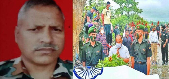 सैन्य सम्मान के साथ हुआ खटीमा के हयात सिंह का अंतिम संस्कार, उग्रवादियों ने किया था अपहरण