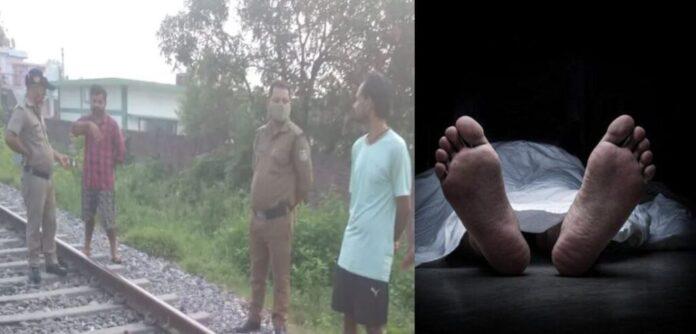 A man died after hit by train in Haldwani Halduchaur