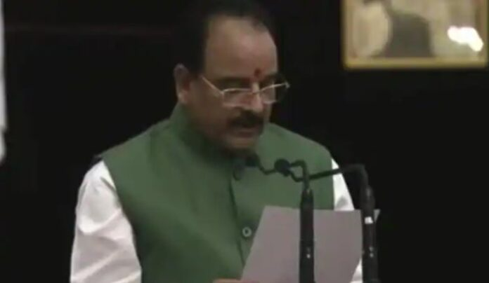 Nainital MP Ajay Bhatt takes oath as central minister