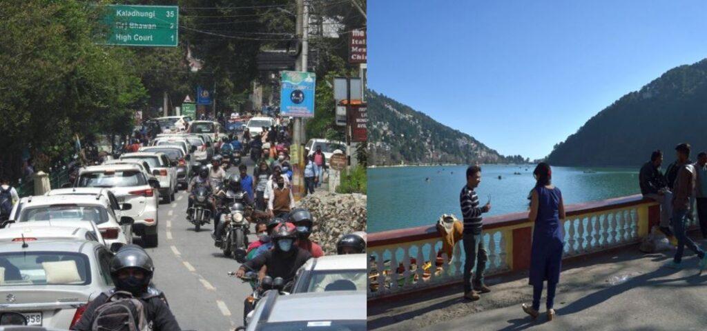 वीकेंड आते ही फिर से भरने लगा नैनीताल, पर्यटकों की उमड़ी भीड़