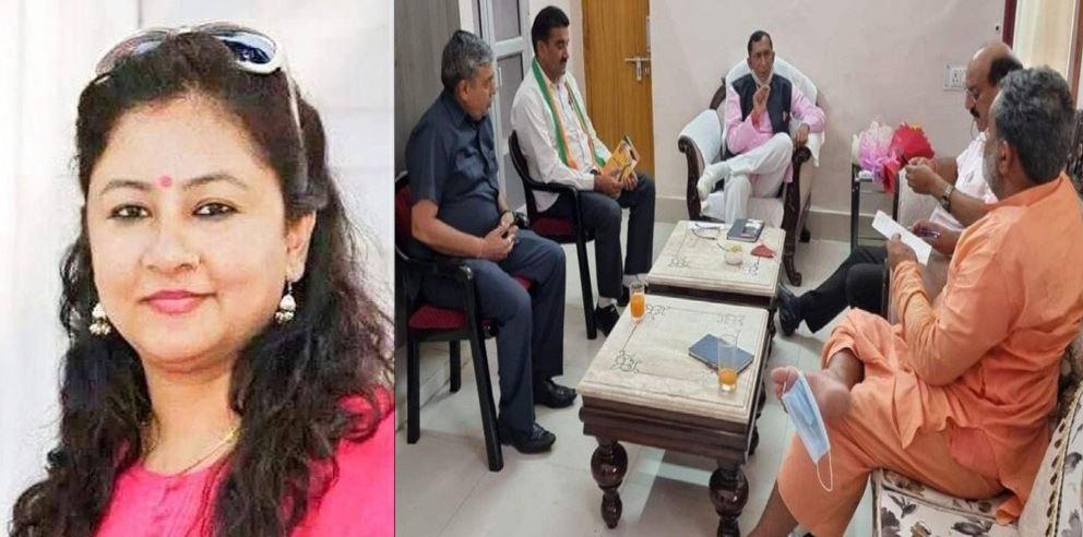 उत्तराखंड: कांग्रेस प्रवक्ता ने फेसबुक पर डाली कैबिनेट मंत्री की फोटो, पैरों में पहना है मास्क