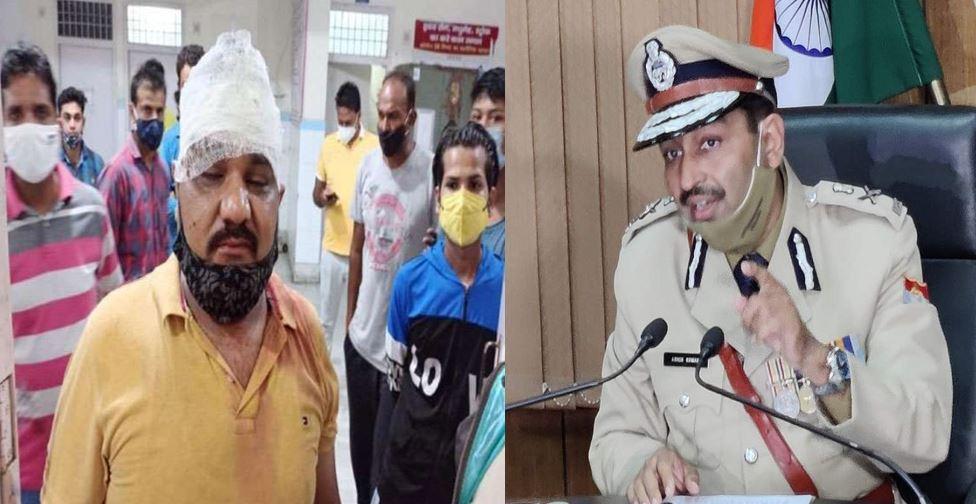 शराब नहीं देने पर उत्तराखंड पुलिसकर्मी ने फोड़ा दुकानदार का सिर, DGP ने किया सस्पेंड