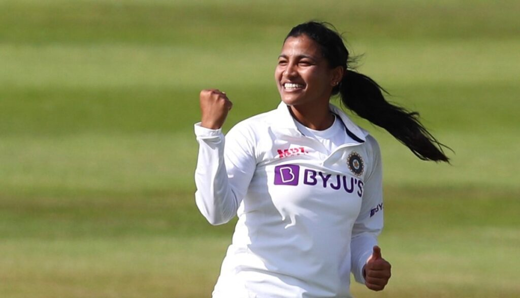 Uttarakhand Sneh Rana nominated for ICC Women's player of the month