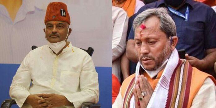 AAP का तंज, गंगोत्री से चुनाव लड़ने की चुनौती पर तीरथ सिंह रावत ने मुख्यमंत्री की कुर्सी ही छोड़ दी!