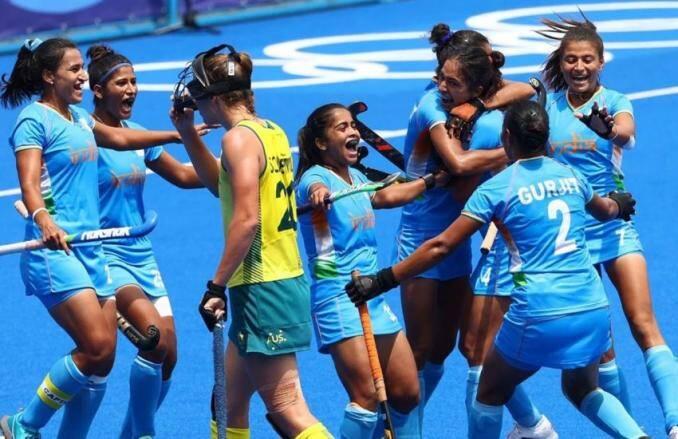 ओलंपिक के इतिहास में पहली बार सेमीफाइनल में पहुंची भारतीय महिला हॉकी टीम