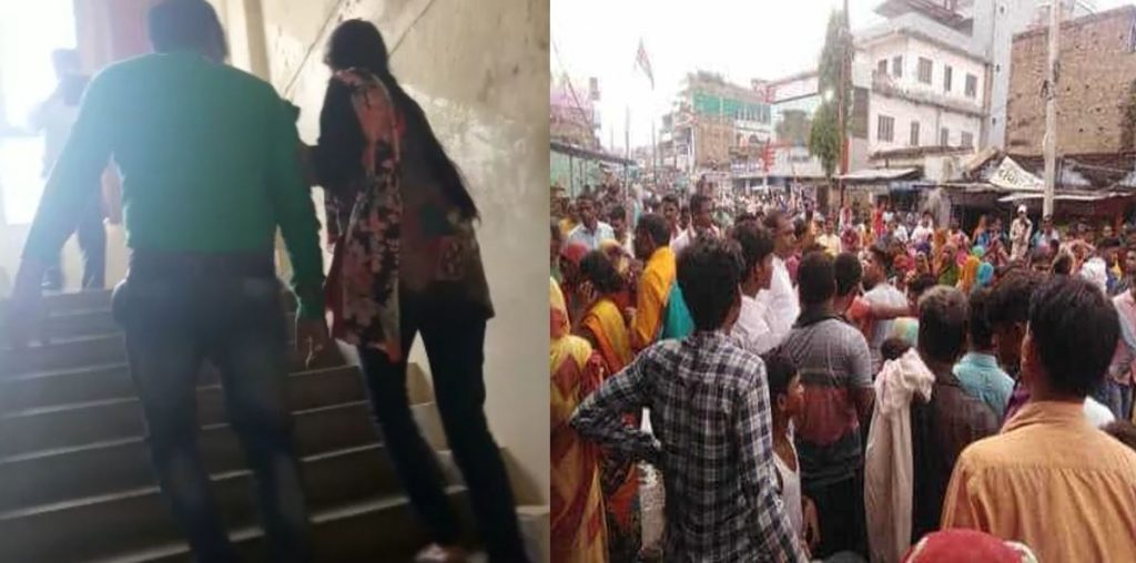उत्तराखंड: पत्नी के साथ बाजार गए युवक का हुआ प्रेमिका से सामना, चप्पलों से हो गई पिटाई