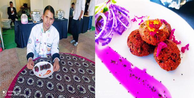 हॉलैंड में लोगों को मडुवे और बुरांश के व्यंजन खिला रहे हैं उत्तरकाशी के टीकाराम सिंह