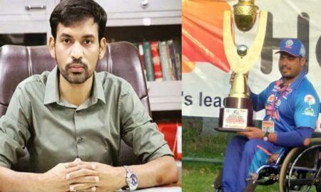 DM आशीष चौहान को सलाम, संकट से जूझ रहे टीम इंडिया के पूर्व कप्तान को बनाया दिव्यांगों का कोच