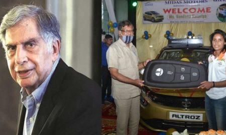 हैट्रिक गर्ल वंदना कटारिया को टाटा मोटर्स ने दिया कीमती गिफ्ट, मिली चमचमाती अल्ट्रोज कार