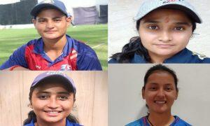 शाबाशी दें, नैनीताल की चार बेटियों को मिली वनडे क्रिकेट टीम में जगह