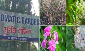 खुशी की बात है, नैनीताल जिले में खुली भारत की पहली सुरभि वाटिका